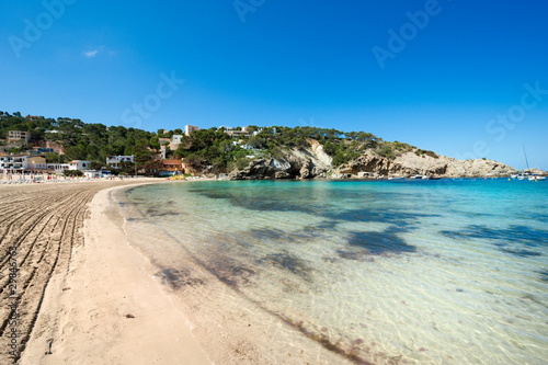 canvas print picture The beautiful coast of Ibiza