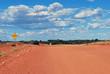 Australian desert track
