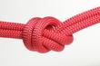 Seil zusammengeknotet