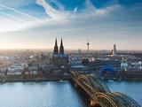 Kölner Dom und Stadtpanorama