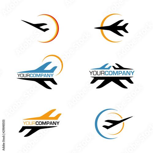 Logo Template Stock Photo