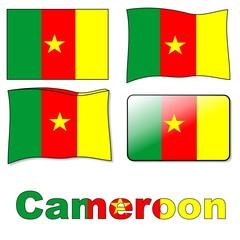 Bandiera Cameroon
