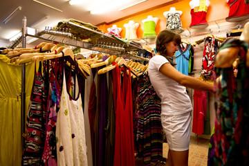 Buyer in a shop