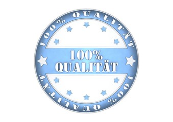 100 Prozent Qualität