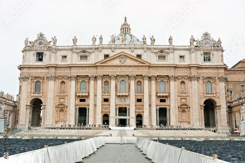 San Peter basilica, Rome, Italy.
