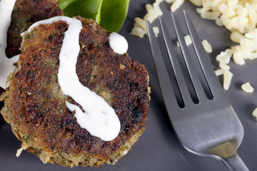 Falafel and Fork