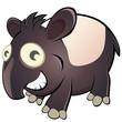 tapir cartoon lustig