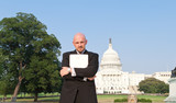Man Suit Power Broker Secret Folder Washington USA poster