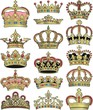 crown and coronet vector collection