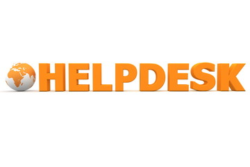 Helpdesk World Orange