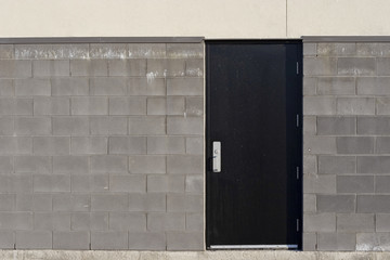Commercial Steel Back Door
