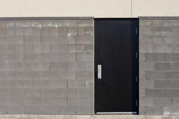 Commercial Steel Back Door