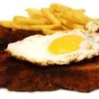 panieres Schnitzel mit Ei