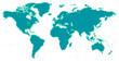 Weltkarte - Raster