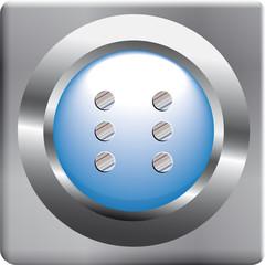 Button Sechs