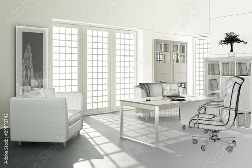 Contemporary Office Design (3d)