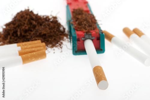 Zigarette stopfen