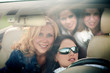 4 girls in the car