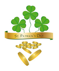 St. Patrick's Day Shamrock Money