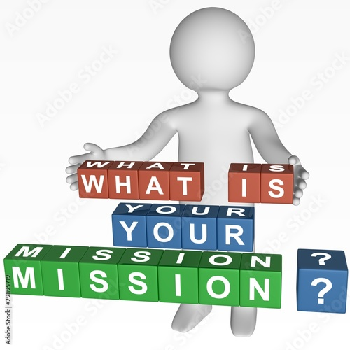 Cubes - 354 - WHAT IS YOUR MISSION ?