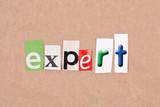 Expert poster