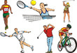 sports figures - outdoor - individual