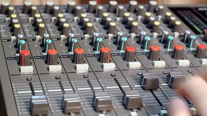 Audio Mixer Desk