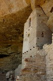 Balcony house, cliff dwelling at Mesa Verde poster