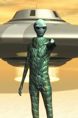 alien gray ufo