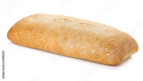 Staande foto Brood Ciabatta bread