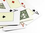 dollar bet poker poster
