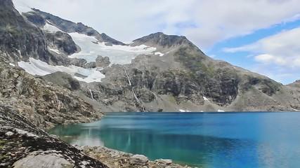 melting glaciar