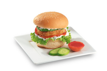 Zinger Chicken Burger