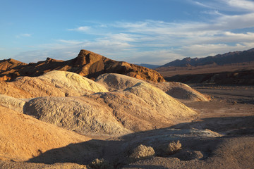 The  section of Death Valley in California