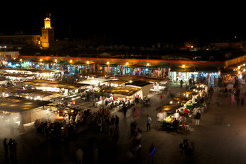 Square Djamaa El Fna in Marrakesh
