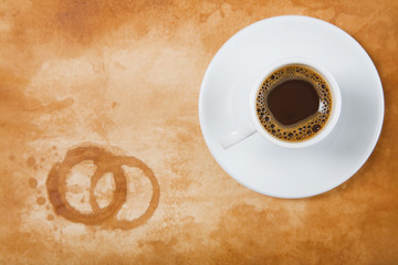 Espresso con Mancha