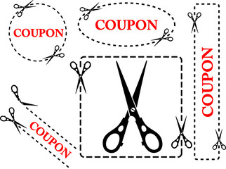 Set of coupons