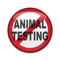 Chapa NO ANIMAL TESTING