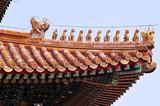 Close Up Building Detail, Beijing, China