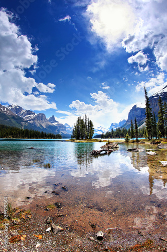 Spirit Island, Maligne Lake, Rocky Mountains / Kanada