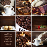 Fototapety Kaffee Collage