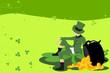 Leprechaun and St Patrick day