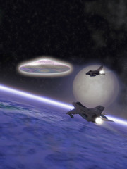 ufo alien interceptor fighter