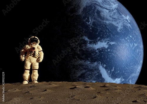 The astronaut - 29933329