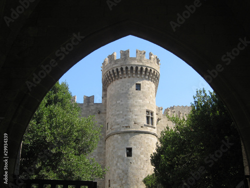 Rhodes Tower In The Old City