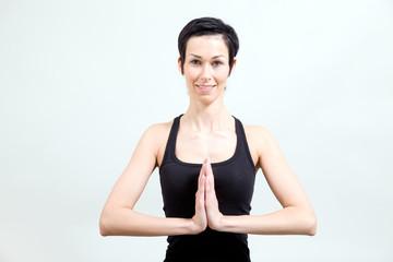Yoga / Gruß