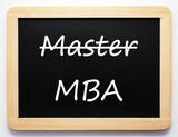 Master / MBA - Career Concept poster