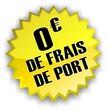 étiquette 0€ de frais de port