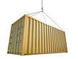 Yellow Shipping Container