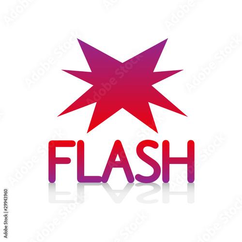 Logo picto internet web flash clair vente promo promotion fichie - Vente flash c discount ...